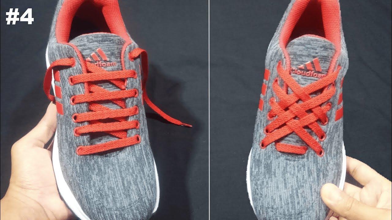 Cara Mengikat Tali Sepatu Model Anyaman Super Kece 4