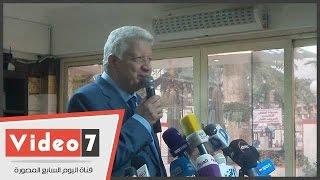 بالفيديو.. مرتضى منصور: رمزى خالد غير ملتزم.. وهيشيل أسمنت وجبس فى المقاولون