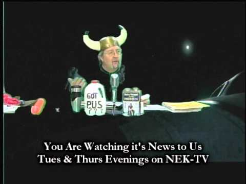 It's News To Us - Newport, Vermont's Oldest Television News Program  - From 2/17/2016
