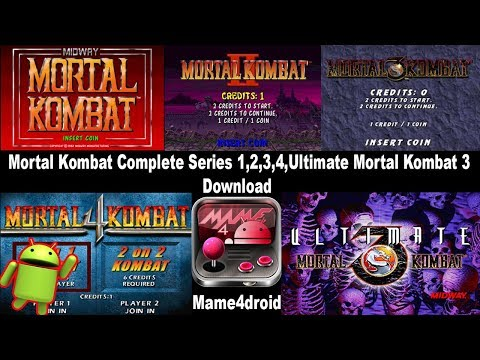 Download Mortal Kombat Complete Series On Android ( Mame4droid )