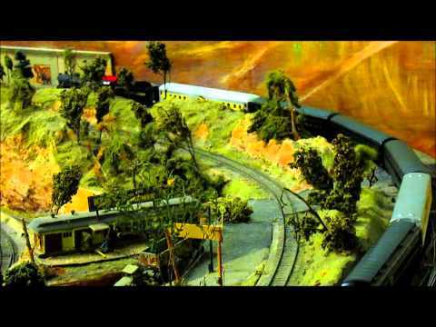 Visiting the Highland Pacific Model Railroad Club July 2nd, 2014
