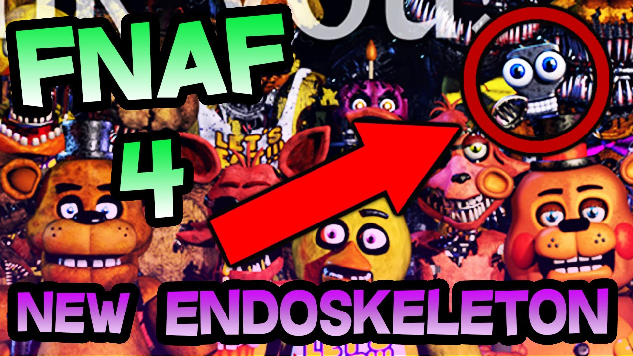 Fnaf 4 new endoskeleton teaser on scott games fnaf 4 dlc fnaf 4 new endoskeleton teaser on scott games fnaf 4 dlc halloween update youtube sciox Choice Image