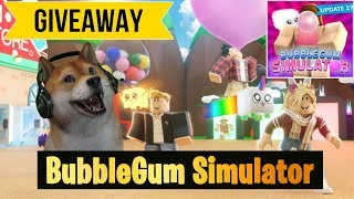 Roblox Bubble Gum Simulator Shiny Trex Giveaway type !ko