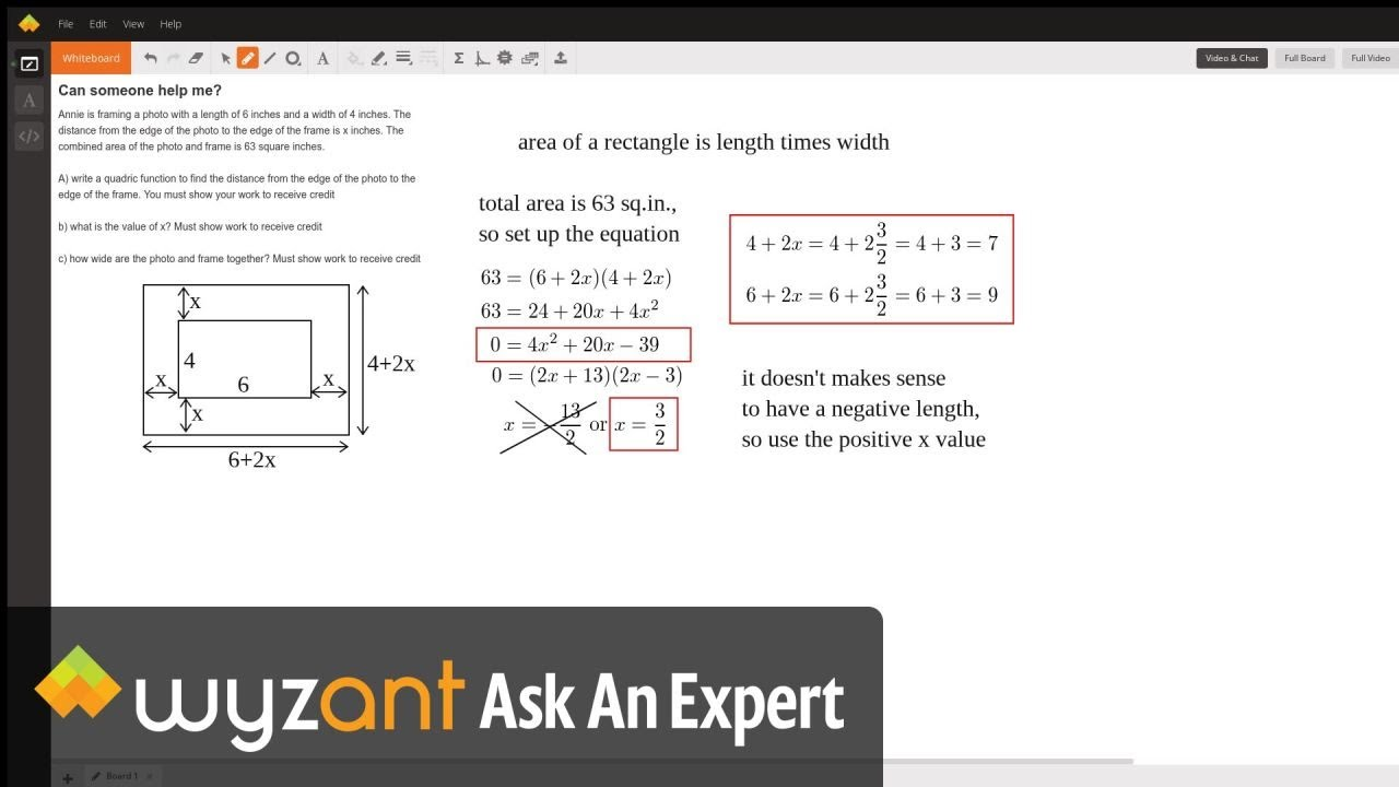 Can someone help me? | Wyzant Ask An Expert