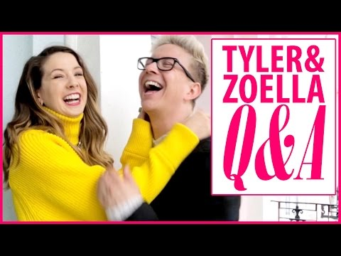 Tyler Oakley & Zoella's Q&A: Celeb Crushes, Spirit Animals, and More