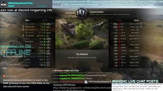 World of Tanks LiVE! Stream - Epic clan platoons and clan battles
