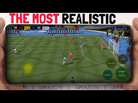 TOP 7 MOST REALISTIC SOCCER GAMES ON ANDROID U0026 IOS 2021 | THE BEST FOOTBALL MOBILE GAMES EVER