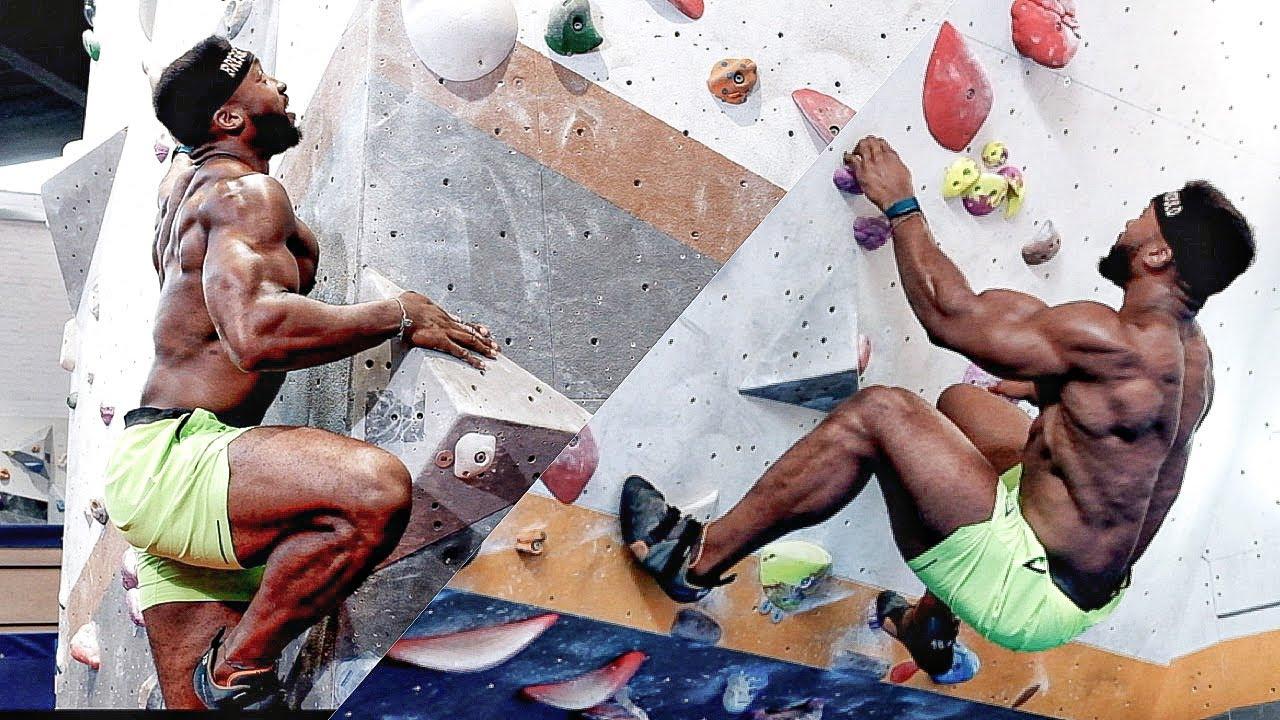 I Tried BOULDERING ...FT Louis Parkinson (Former Team GB Climbing)