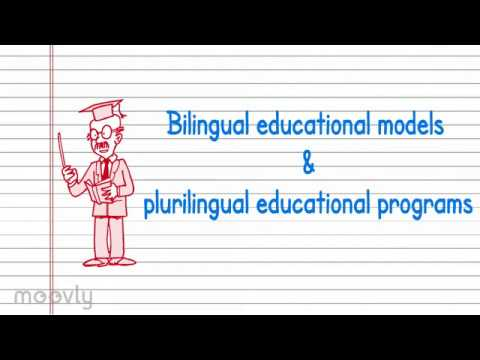 Bilingual models and programs