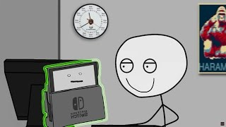 What it feels like to get a Nintendo SWITCH