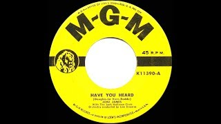 1953 HITS ARCHIVE: Have You Heard - Joni James