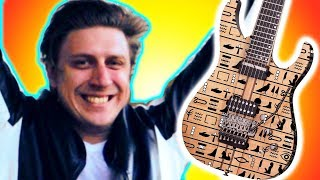 Schecter engraved my Guitar because I make YouTube videos