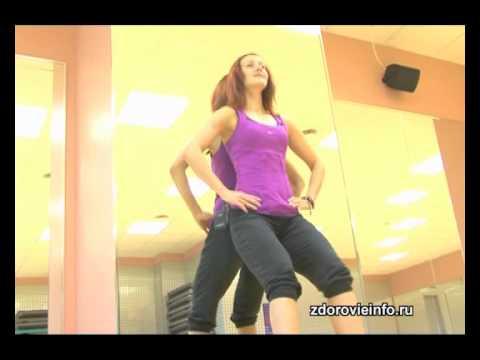 как убрать жир с коленей упражнения видео