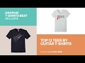 Top 12 Tees By Guitar T-Shirts // Graphic T-Shirts Best Sellers