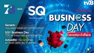 7/8 Eco. Record pour le SQY Business Day et le nouveau siège de Genaris Group