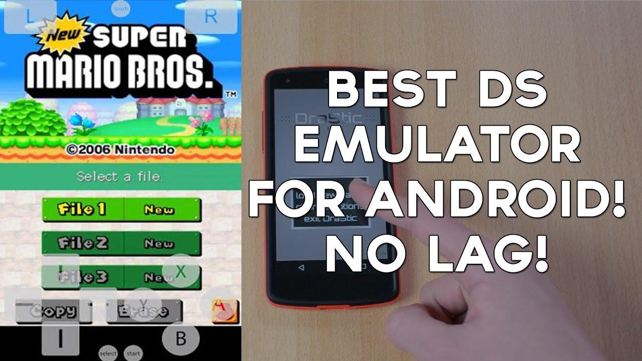 Nintendo DS emulator (ANDROID 2017)