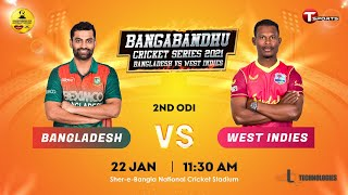 Full Match Highlights | Bangladesh Vs West Indies | 2nd ODI | 2021