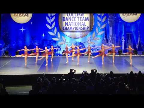 University of Northern Iowa Dance Team - Nationals Jazz 2017