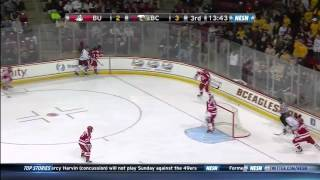 Boston University at Boston College Highlights - 1/17/2014