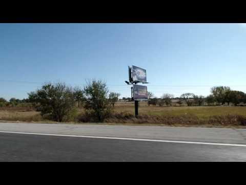 Entering Ponca City, Oklahoma