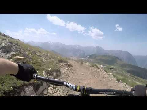 Alps biking 2015, Deus Alp, and Les Arcs.
