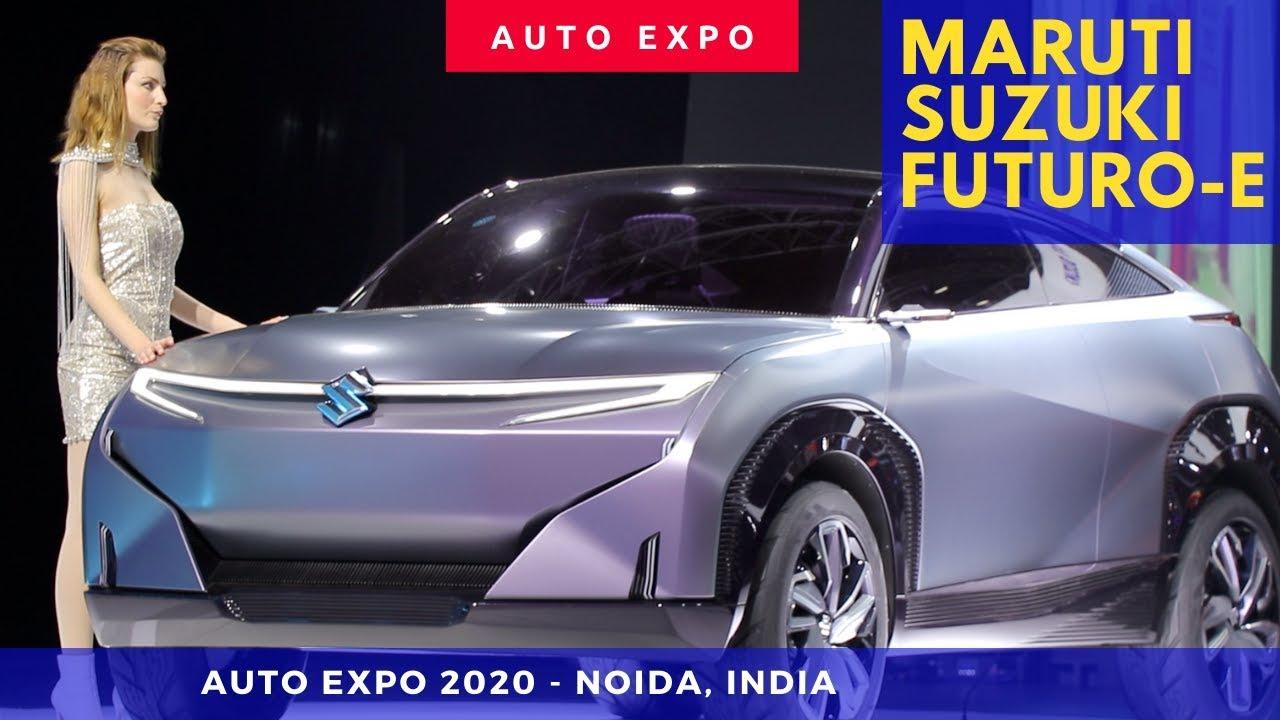 Maruti Suzuki Futuro e Concept Car 2021 showcased at ...