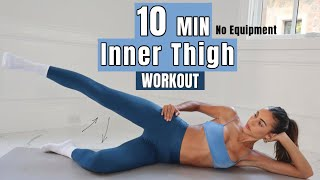 10 MIN Inner Thigh Fitness Routine // Express Workout & Summer Ready // Sami Clarke #FitAtHome