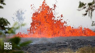 WATCH LIVE: Lava erupts from Kilauea volcano in Lower Puna Hawaii