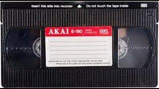 VHS AKAI процесс записи стерео звука на новую ленту