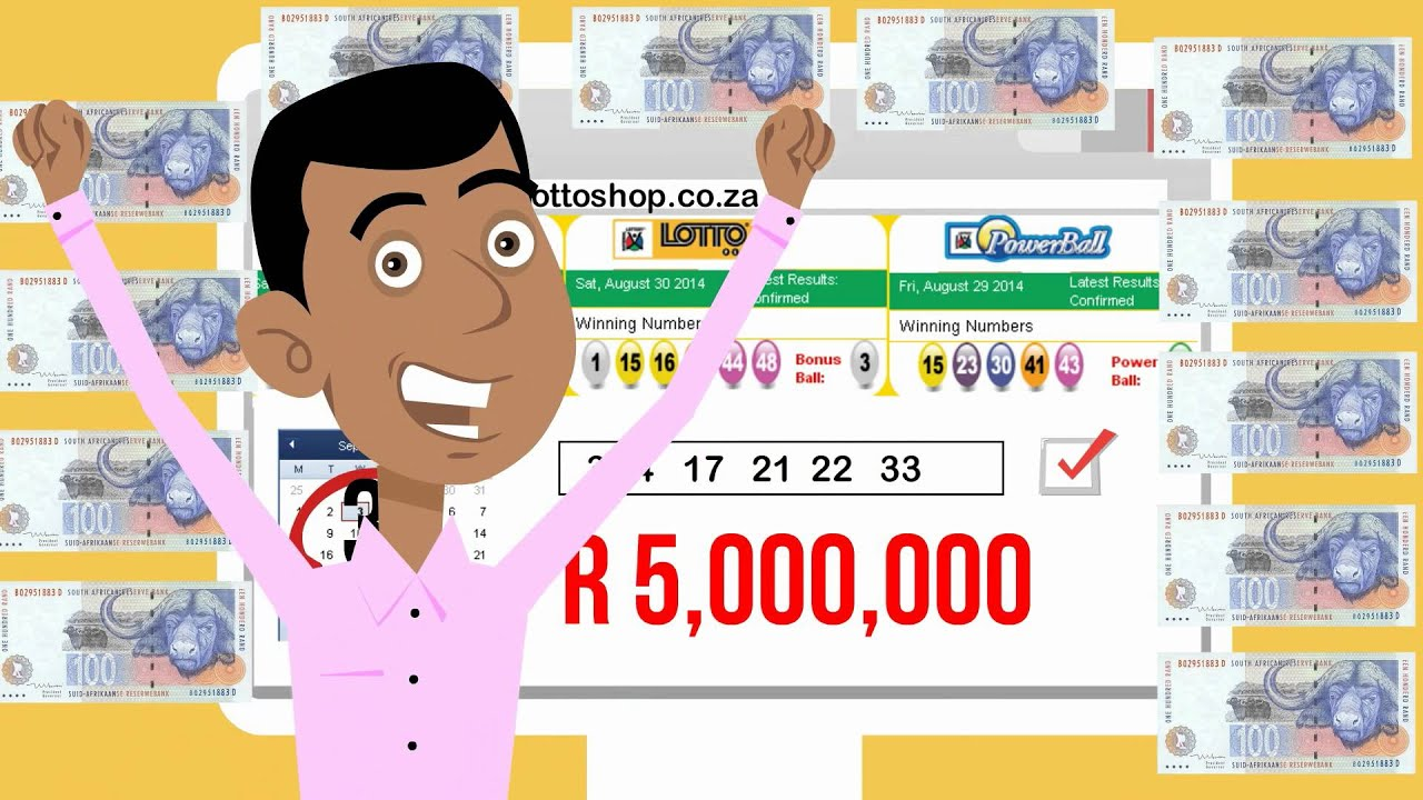 Check your South African Lotto and Powerball Ticket Online For Free