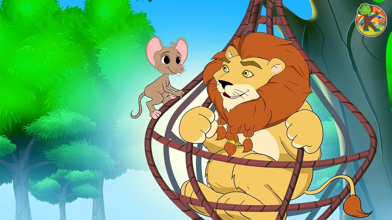Singa Dan Tikus Cerita Kartun Anak Anak Bahasa Indonesia Kondosan Bagian 13 Dongeng Youtube