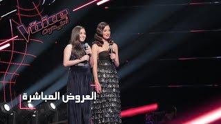بالفيديو| عضوة بفريق الحلاني تدمج أغنيتين بالمرحلة الثالثة لـ