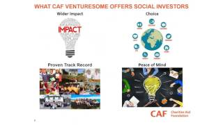 CAF Venturesome webinar - multiply your giving