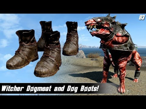Fallout 4 Mods Week 83 - Witcher Dogmeat and Dog Boots!