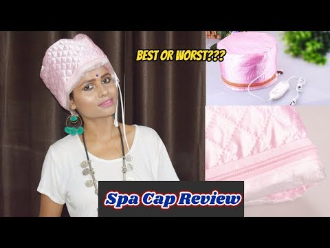 How To Use Spa Cap for Hair Spa at Home  !!Spa Cap Review & Experience !! The fashion seed