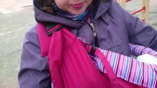 Слинг  Selby part2 Слингомама(Ношение детей в слинге очень удобно, как для детей, так и для мам. Про данный слинг больше негативных отзывов..., 2014-10-19T14:58:40.000Z)