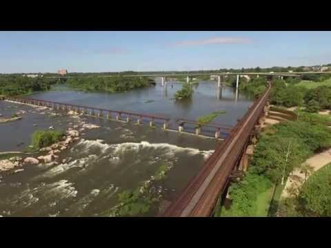 Quadcopter video: Brown's Island, Richmond