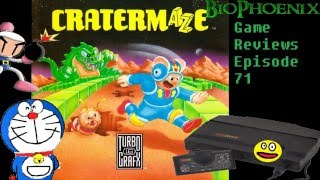 BioPhoenix Game Reviews: CraterMaze (TurboGrafx-16)
