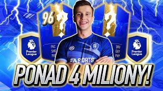 TRAFIŁEM TOTSy warte PONAD 4 MILIONY z PREMIER LEAGUE! FIFA 19 Ultimate Team