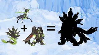Requests #69 - Fusemon: All Zygarde's Forms Fusion