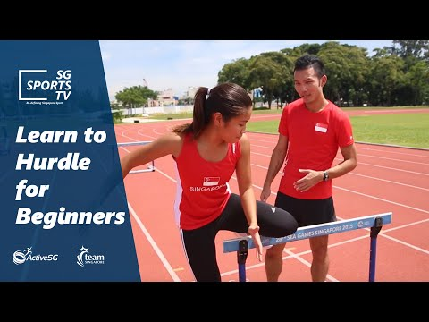 Thumbnail: Learn to hurdle for beginners | ActiveSG Athletics 101