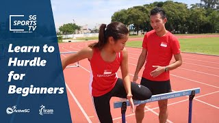 Learn to hurdle for beginners | Athletics for Beginners