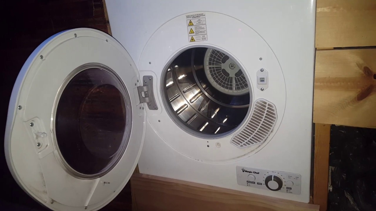 Magic Chef Dryer Review Youtube
