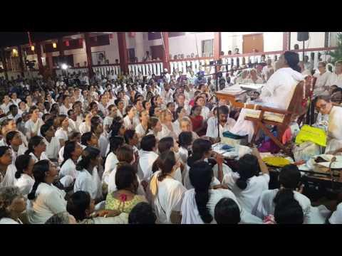 Amma singing Shivaratri bhajans