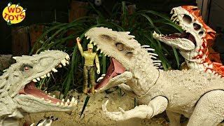 INDOMINUS REX UNBOXED!! DESTROY N DEVOUR INDOMINUS REX UNBOXING! Jurassic World Mattel Dino Rival