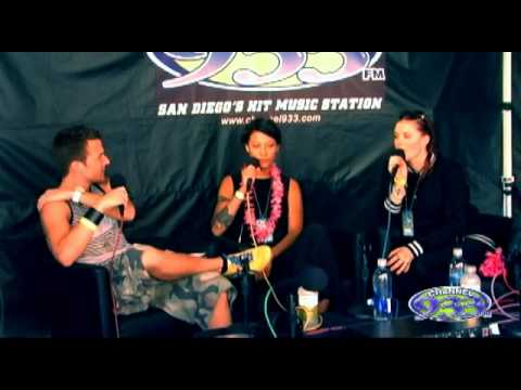 Backstage interview with Icona Pop at Channel 933's Summer Kick Off Concert 2013