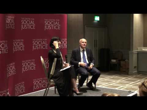 The Rt Hon Iain Duncan Smith MP with Jenni Russell - Conservative Conference 2016 (Part 2)