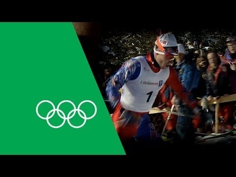 8-Time Gold Medalist Bjørn Dæhlie Relives His Lillehammer Glory | Olympic Rewind