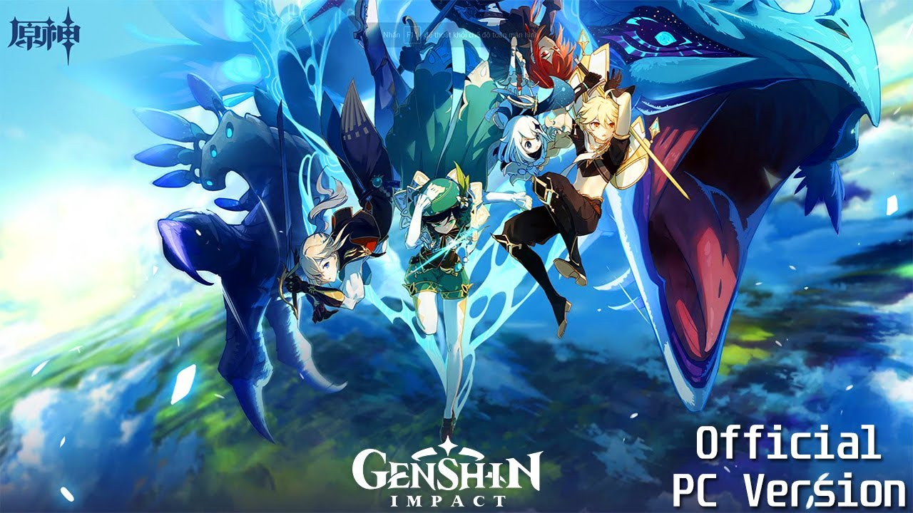 Genshin Impact Cn ŎŸç¥ž Official Pc Version Pre Dowload Vs Login Screen Showcase 2020 Youtube