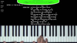 In Christ Alone (Kristian Stanfill) - How to Play on the Piano